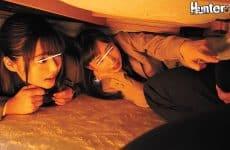 Hunta-721 Inside The Foot Warmer, It Was Panty Shot Heaven