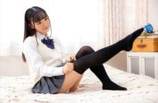 Vrtm-507 This Girl In A School Uniform And Knee-high Socks