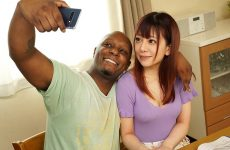 Ngod-140 First Ntr With A Black Guy: White Peachy Ass And Black Cock
