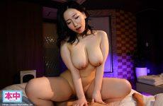 Hmn-032 Ai Sayama, A Tadaman Big Tits Married Woman Who Invites